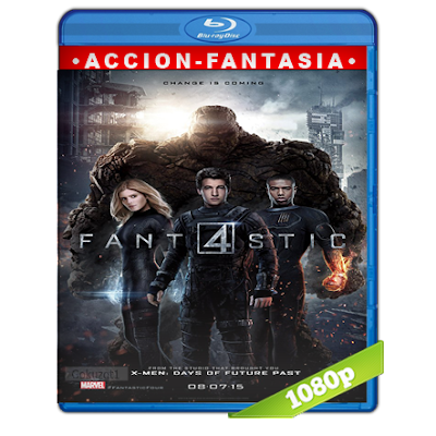 Los 4 Fantasticos (2015) BRRip Full 1080p Audio Trial Latino-Castellano-Ingles 5.1