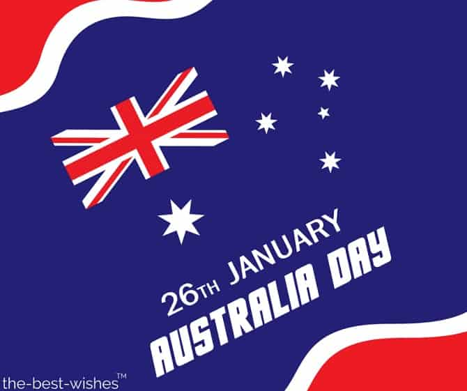 the 26thof january australia day