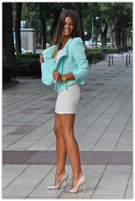 Art Symphony Trend Fitted Mini Skirts