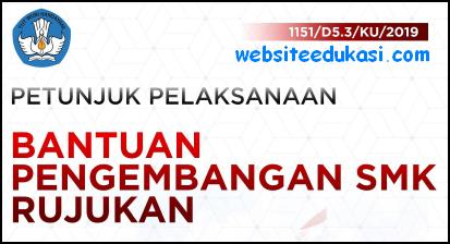 Juklak Bantuan Pengembangan SMK Rujukan 2019