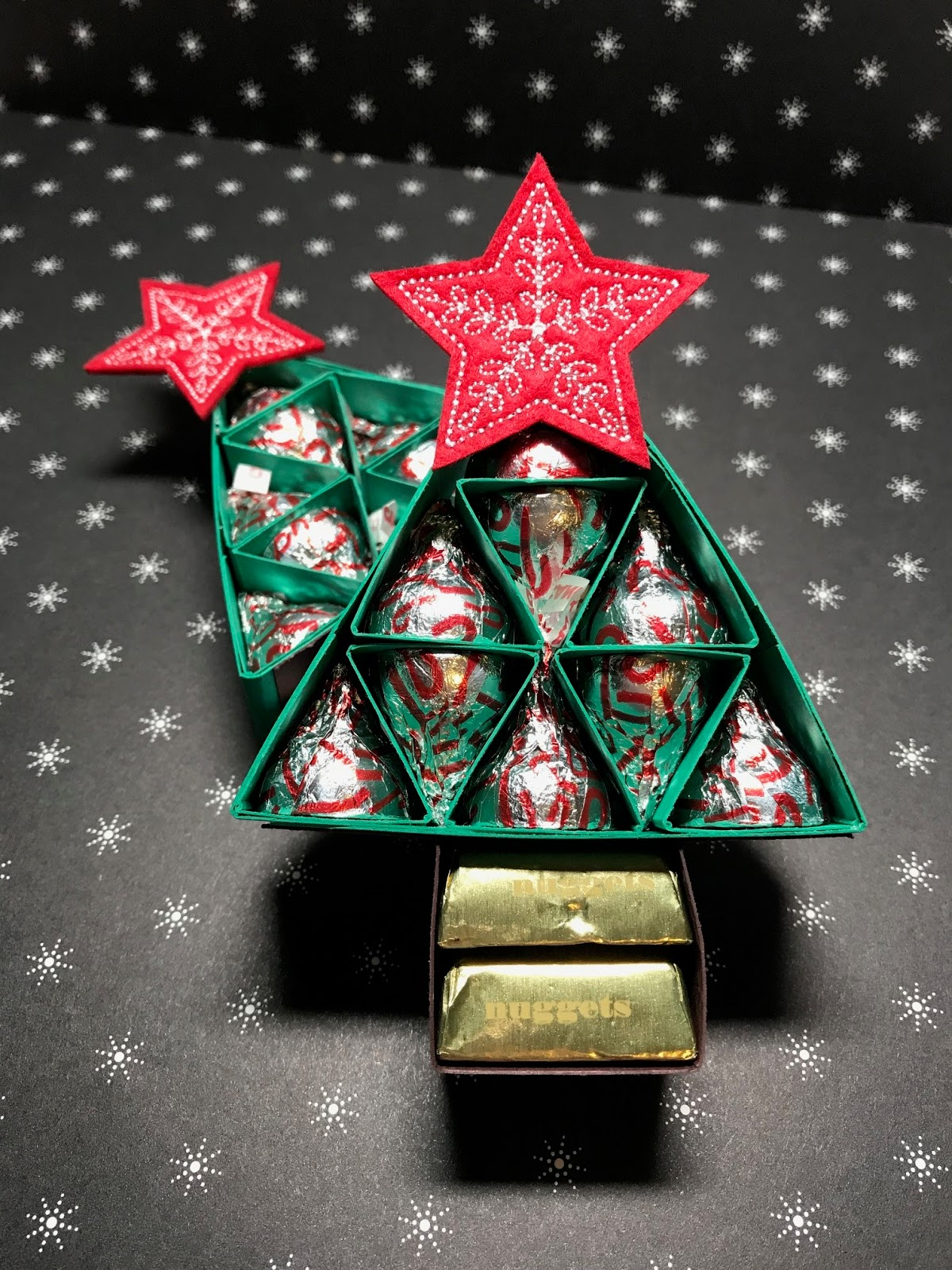 The Stampin\' RN: Christmas Tree with Hershey Kisses