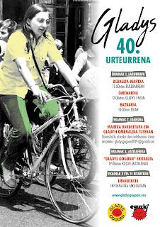 [:es]40º aniversario de Gladys del Estal[:eu]Gladys del Estal-en 40.urtemuga [:] @ Donostia