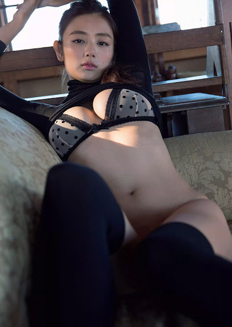 Hot girls Katayama Moemi Japanese lingerie angel 5