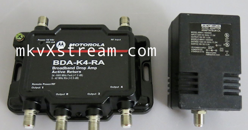 Cable Tv Modem Amplifier Splitter