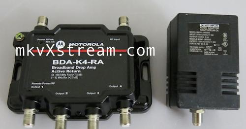 Cable Tv Modem Amplifier Splitter