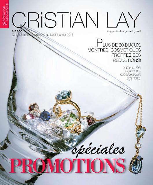 catalogue cristian lay maroc decembre janvier 2018