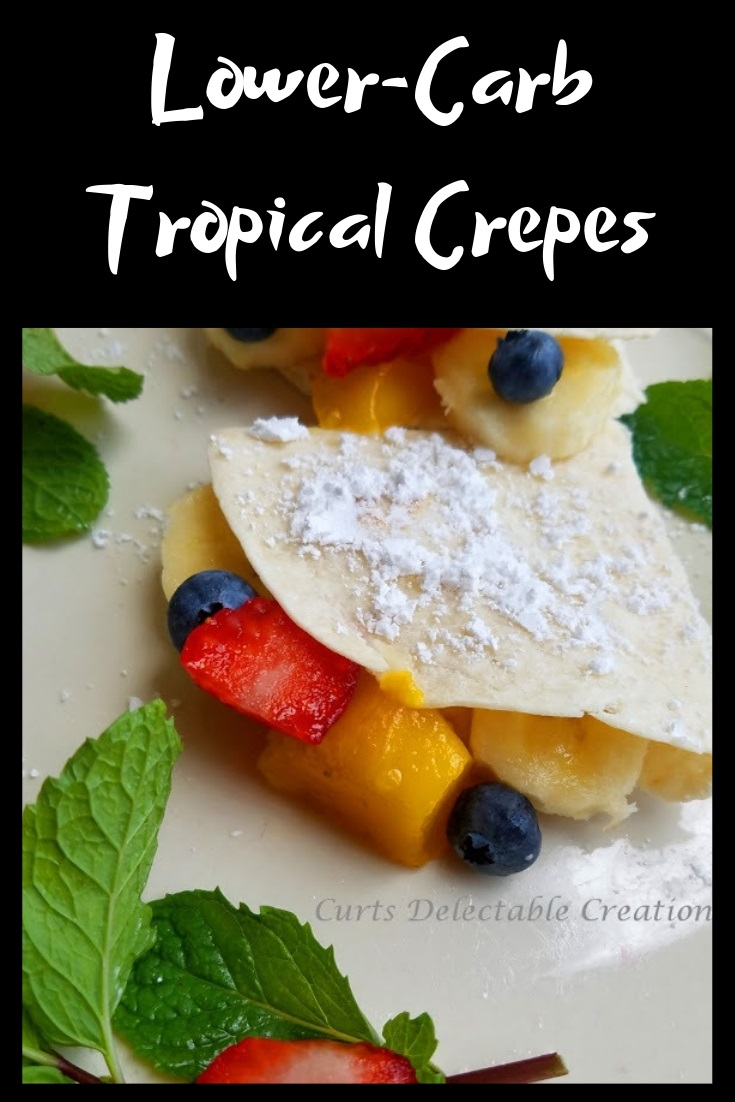these are a low carb crepe that is easy to make an healthy