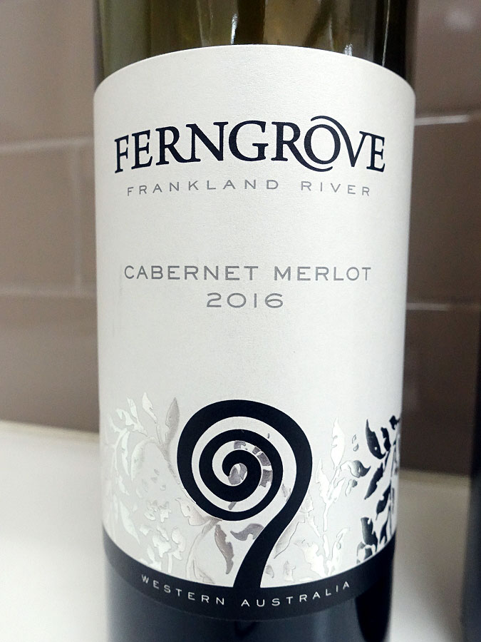 Ferngrove Frankland River Cabernet/Merlot 2016 (89 pts)