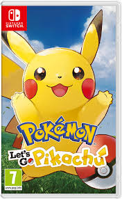 Pokémon Let's Go Pikachu Switch Xci Nsp