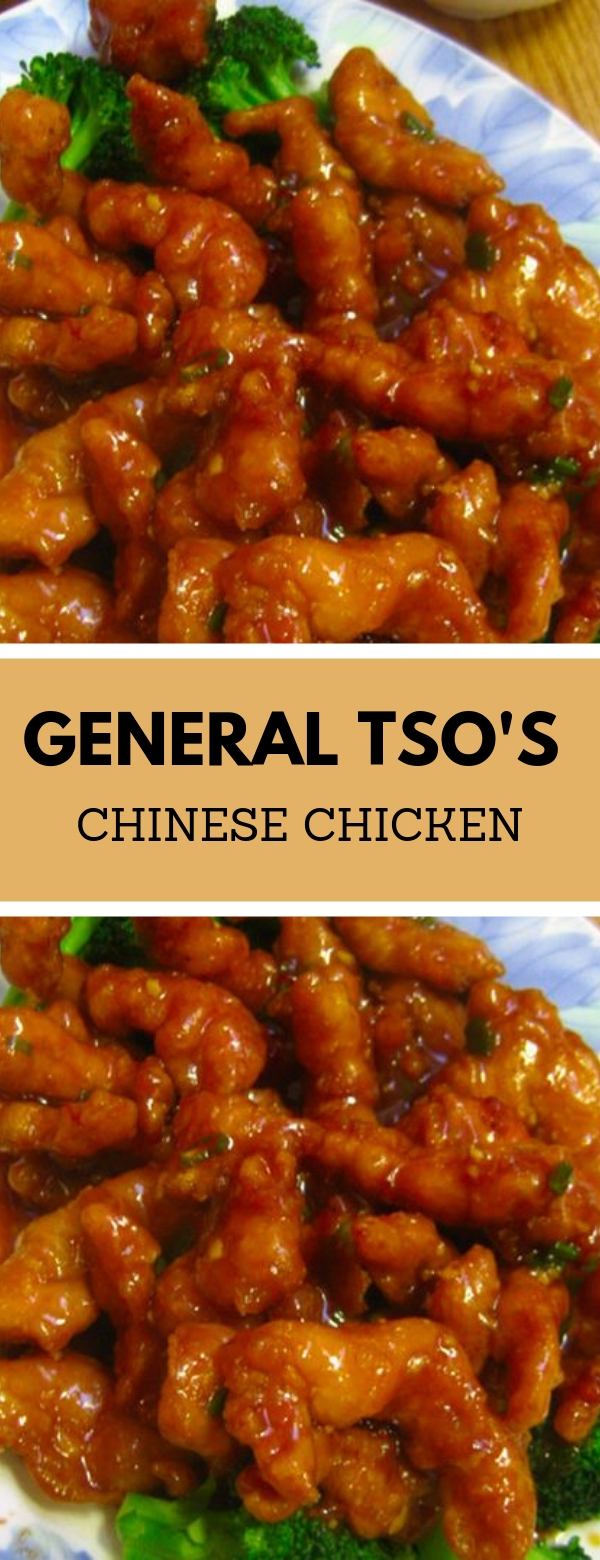 General Tso's Chinese Chicken #chicken #chinese #dinner #glutenfree