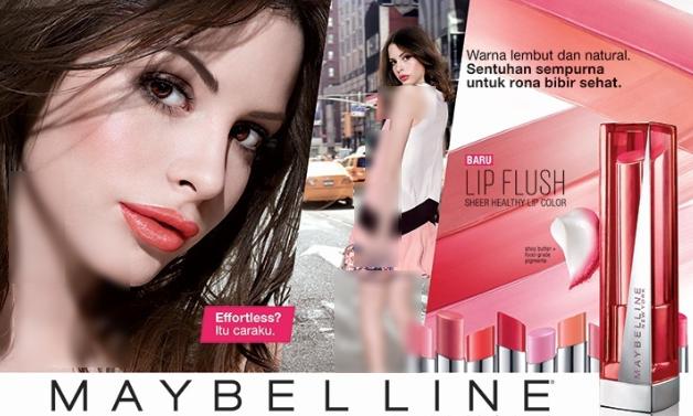 Daftar harga lipstik Maybelline waterproof, natural, dan Color Show