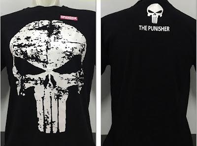 Kaos Superhero The Punisher Skull