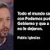"""Pablo Iglesias: """"Yo ya advertí a Sánchez que se cuidara de Felipe González, y ahí están los hechos"""""""