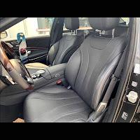 Mercedes S450 L 2019 đã qua sử dụng nội thất Đen