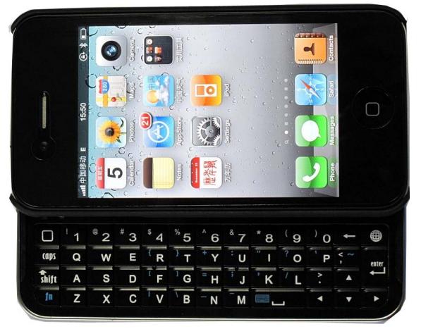 apple goodies iphone 4 wireless keyboard. Black Bedroom Furniture Sets. Home Design Ideas
