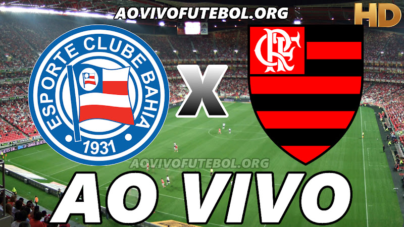 Bahia x Flamengo Ao Vivo na TV HD