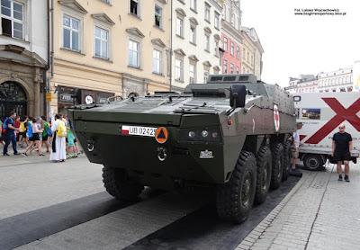 Rosomak - wóz ewakuacji medycznej, Wojsko Polskie