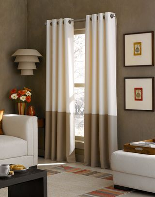 Curtain Styles For Large Windows Living Room Rooms Small Photos