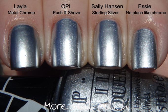 Sally Hansen Color Foil Swatches And Review More Nail Polish