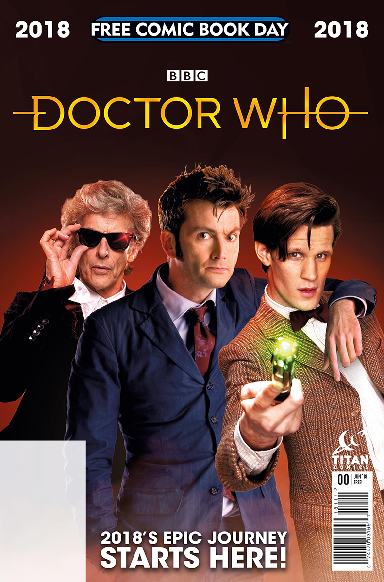 Pick Up Your Free Doctor Who Comic For Comic Book Day