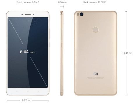 Spesifikasi dan Harga Xiaomi Mi Max 2