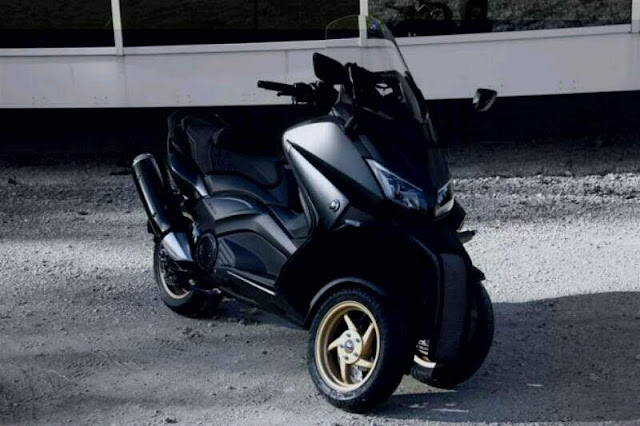 Yamaha T Max Roda 3