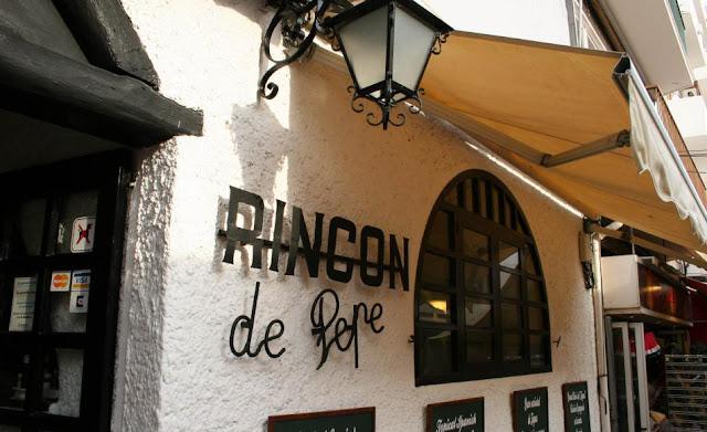 Restaurante El Rincon de Pepe em Ibiza