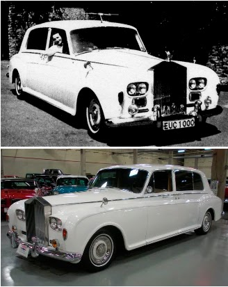 60x50 John Lennon S White Rolls Royce And Its