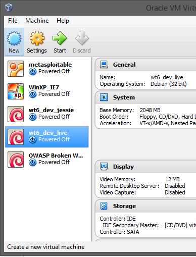 WeakNet Labs: Networking with VirtualBox and Multiple VMs