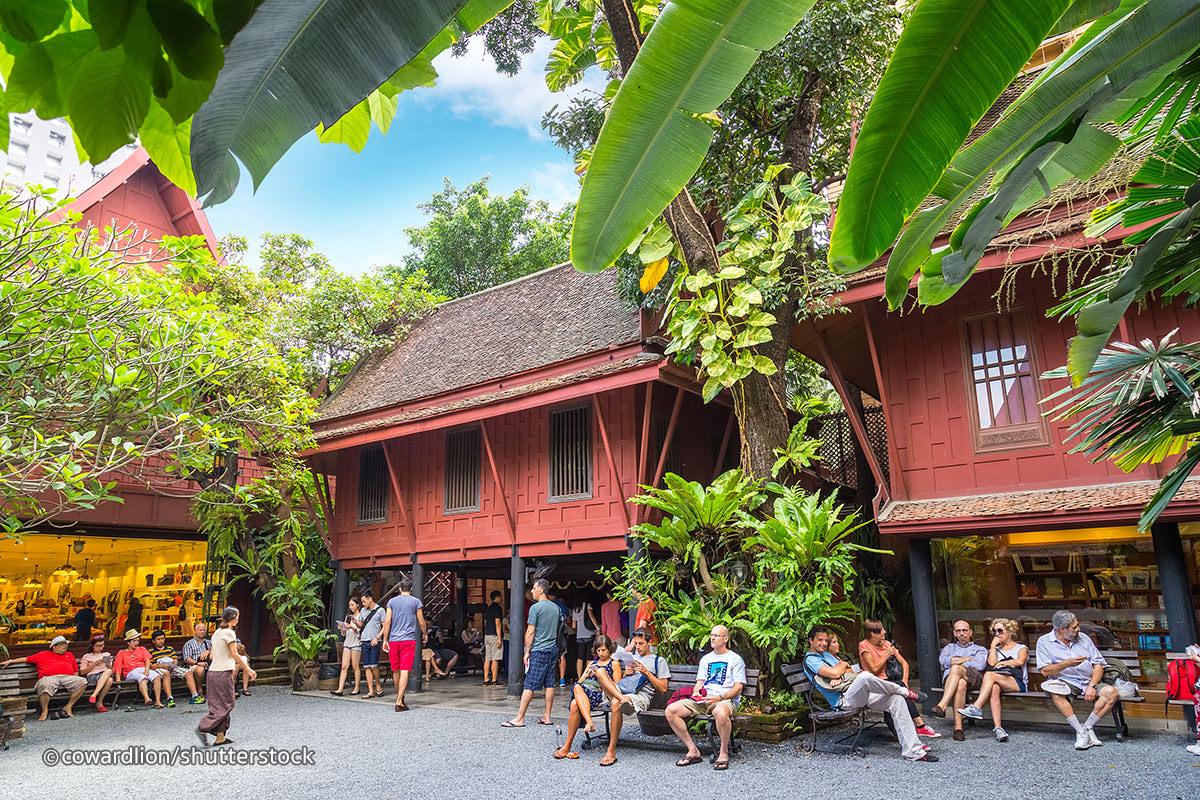 The jim thompson house bangkok for Jim s dog house