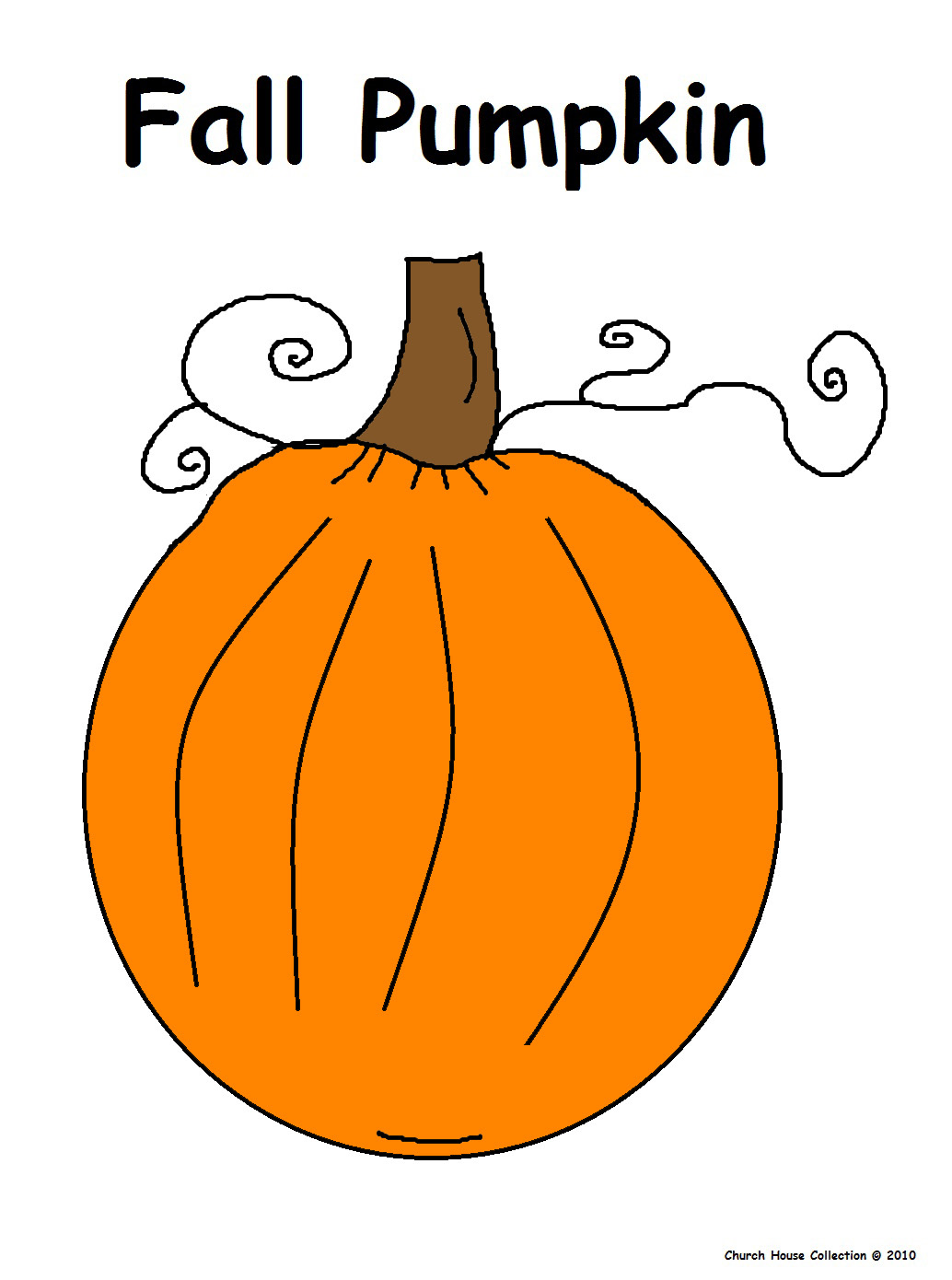 Church House Collection Blog: Christian Pumpkin Coloring Pages