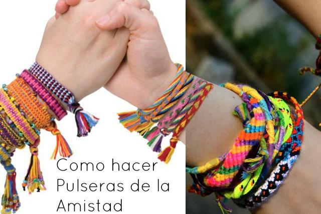 Pulseras De Hilo De Coser. Free Tutorial Paso A Paso Pulsera De ...