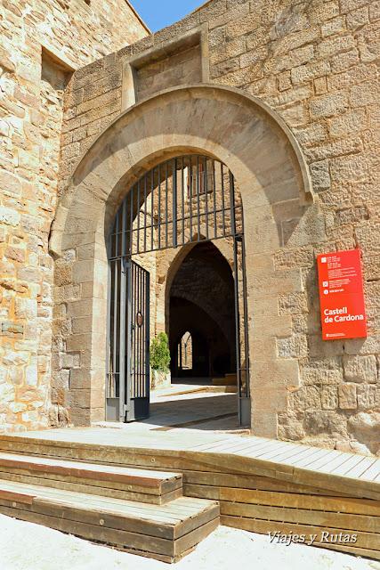 Entrada al Castillo de Cardona, Barcelona