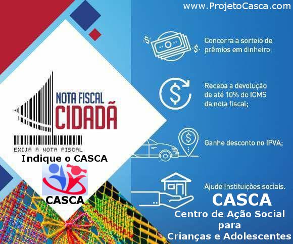 Cadastre seu CPF no projeto Nota Fiscal Alagoana, tenha benefícios e indique o CASCA