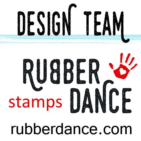 I design for Rubber Dance Art Stamps