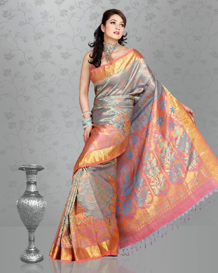 Wedding Saree Collection 2013 2014 Indian Wedding Saree