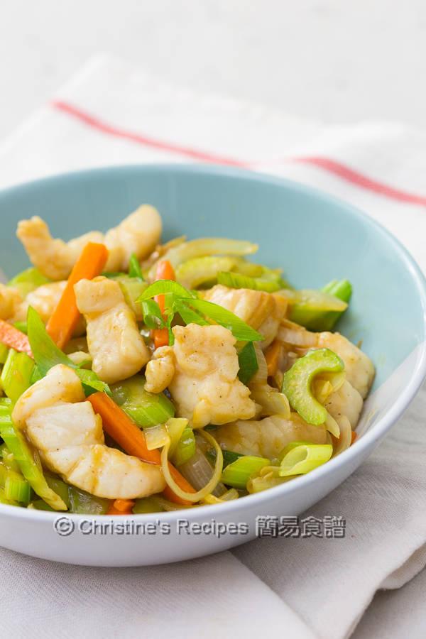 Celery Fish Stir Fry03