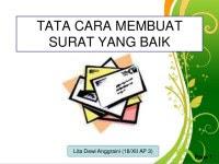 Contoh Surat Lamaran Kerja Indonesia Di Tulis Tangan Sendiri