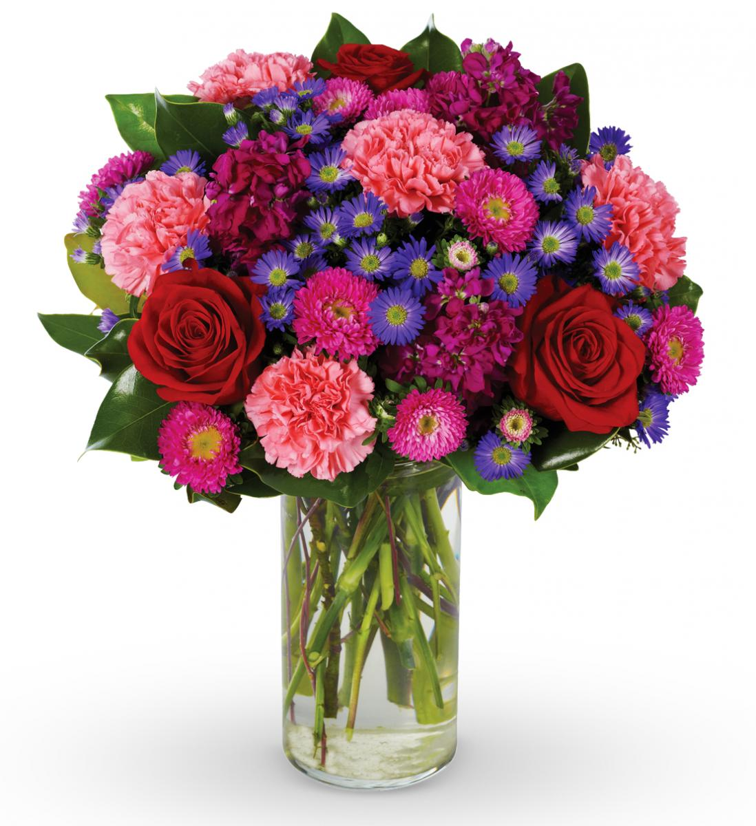 Beautiful Bouquet Of Flowers For Someone We Love Slim Image