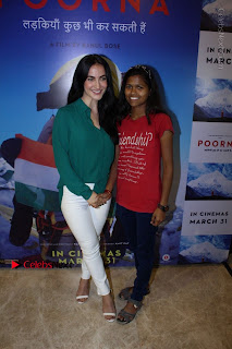 The Red Carpet Of The Special Screening Of Poorna  0056.JPG