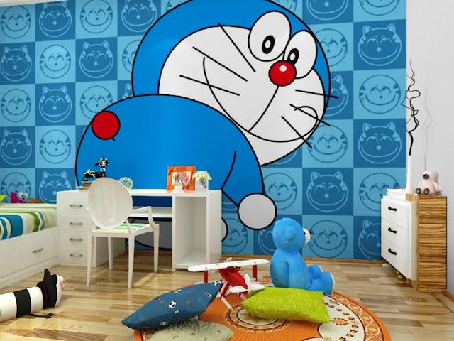 thiết kế phòng ngủ doremon 12