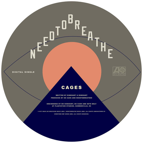 NEEDTOBREATHE - Cages - Single Cover