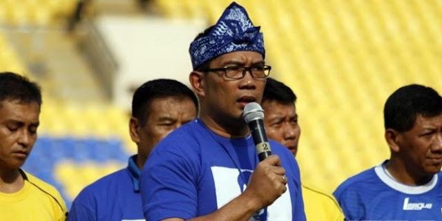 Serukan Seluruh RW Nonton Bareng Persib, Ridwan Kamil: Jangan Bawa Pacar Teman