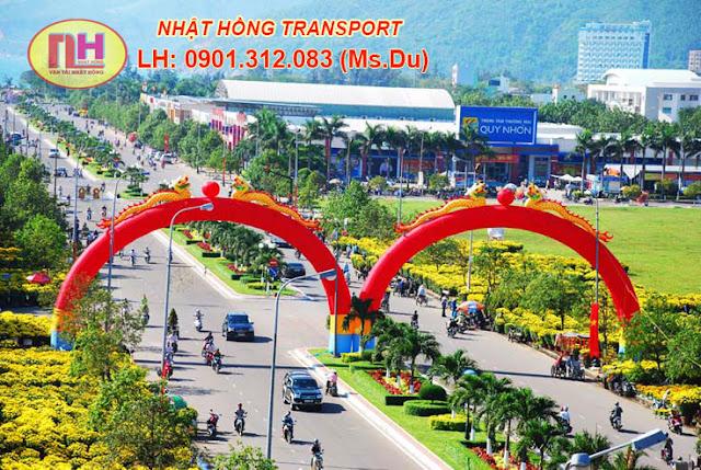 Công ty vận chuyển hàng đi Bình Định giá rẻ nhất Tphcm