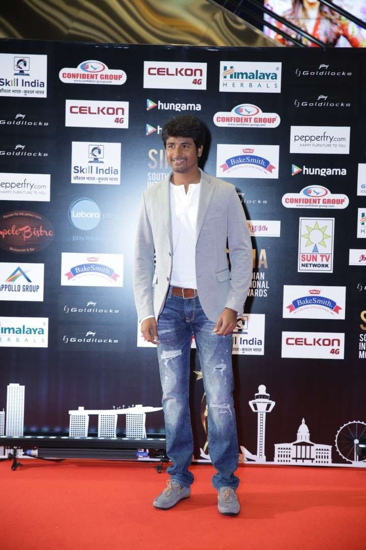 Tamil actor Sivakarthikeyan was present at SIIMA