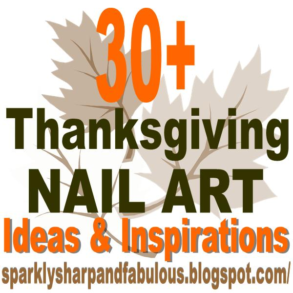 Thanksgiving and Fall Nail Art {Ideas and Tutorials}