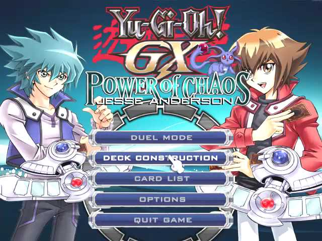 yugioh gx power of chaos jesse mod pc game download