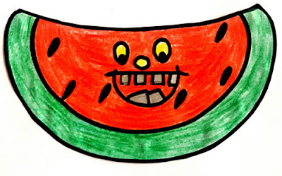 Water Melon Smiley