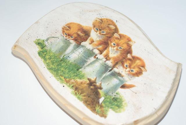 Podkładka w koty