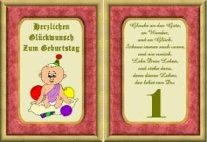 Gluckwunsche Zum 1 Geburtstag